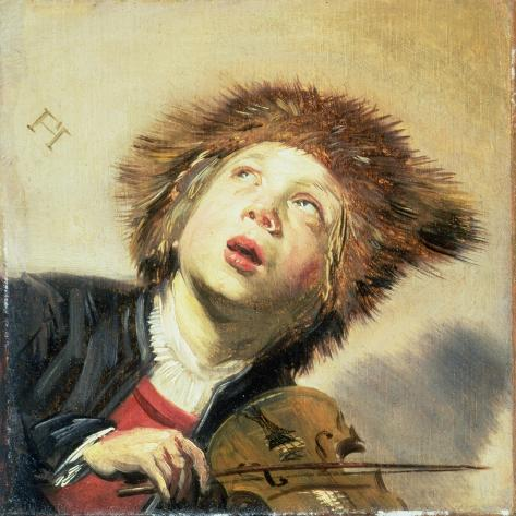 A Boy with a Viol Giclee Print