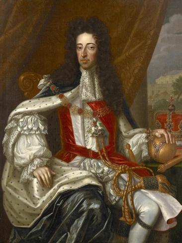 Portrait of King William III Giclee Print