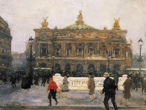 L'Opéra De Paris Giclee Print