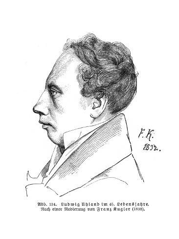 Johann Uhland Stampa giclée