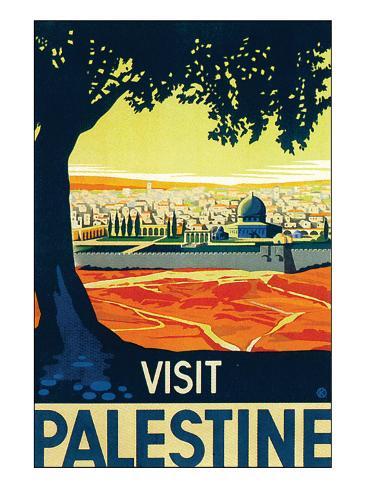 Visit Palestine Premium Giclee Print