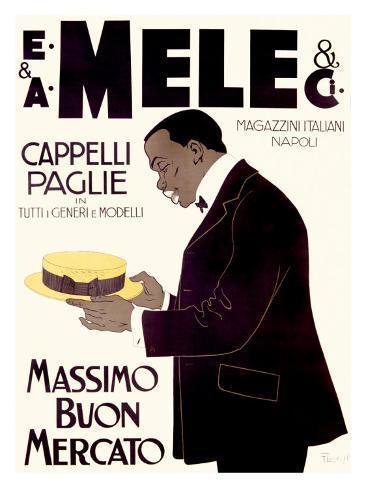 E&A Mele, Massimo Buon Mercato Giclee Print