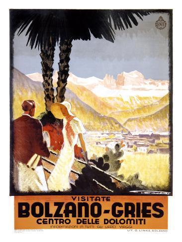 Visitate Bolzano, Gries Giclee Print