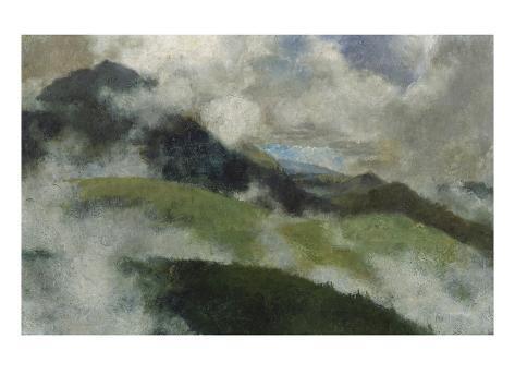 Aufsteigende Nebel, 1903 Giclee Print