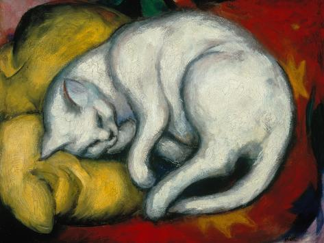 The White Cat, 1912 Giclee Print