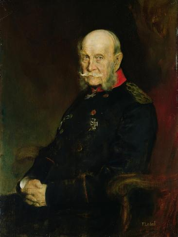 Kaiser Wilhelm I (1797-1888), 1888 Lámina giclée