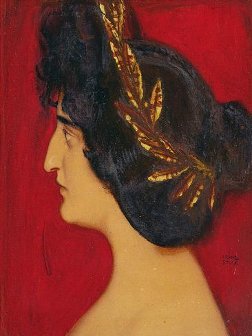 Roman Woman Lámina giclée
