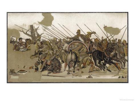 Alexander V at Issus Giclee Print