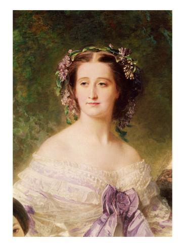 Empress Eugenie Giclee Print