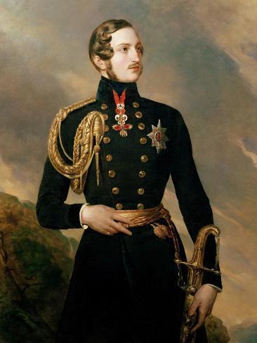 Prince Albert, the Prince Consort (1819-61) Stampa giclée