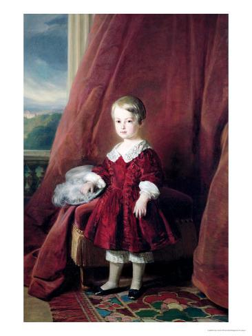 Portrait of Louis D'Orleans, 1845 Giclee Print