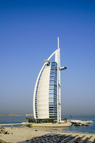 Burj Al Arab Hotel Iconic Dubai Landmark Jumeirah Beach