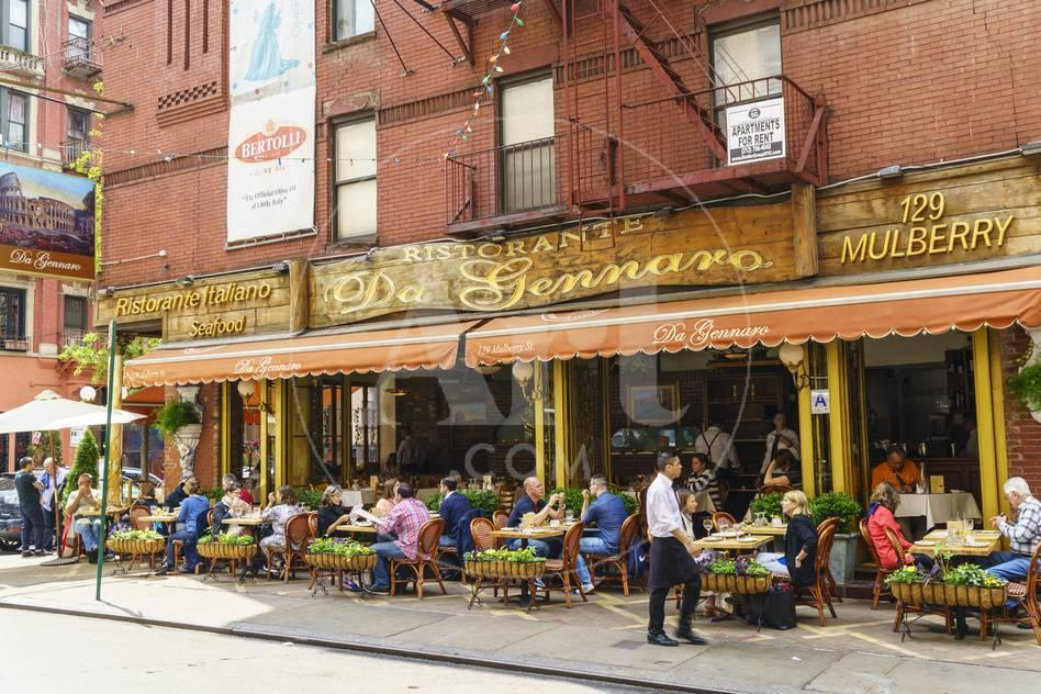 Italian Restaurant In Little Italy Manhattan New York City United States Of America North Ameri Photographic Print By Fraser Hall At Allposters