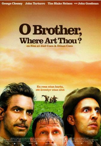 Fratello, dove sei? (versione per il mercato estero) Stampa master