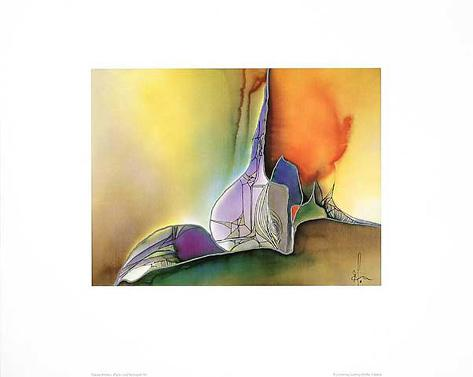 Farb & Formenspiel IV Art Print