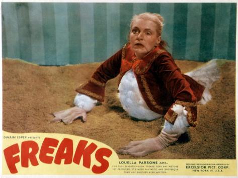 Freaks, Olga Baclanova, 1932 Fotografia