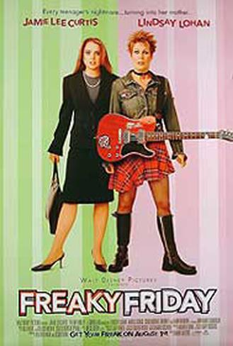 Freaky Friday Original Poster