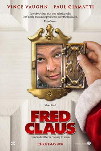 Fred Claus Double-sided poster