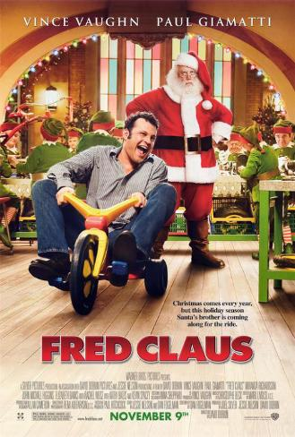 Fred Claus Pôster
