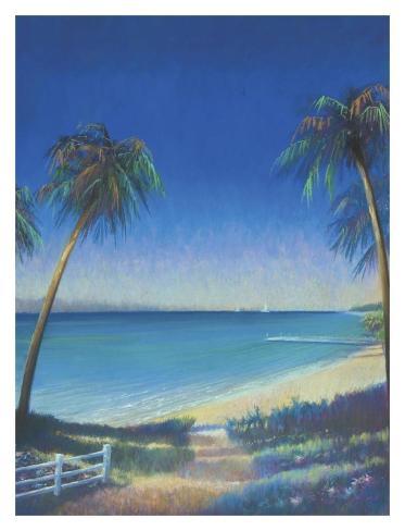 Tropical Path II Art Print