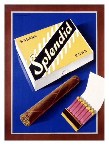 Splendid Habana Rond Giclee Print
