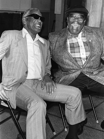 Ray Charles, B.B. King - 1990 Valokuvavedos