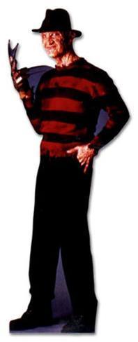 Freddy Krueger Nightmare on Elm Street Movie Lifesize Standup Cardboard Cutouts