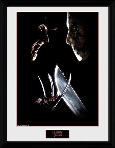 Freddy vs Jason - Face Off Collector Print
