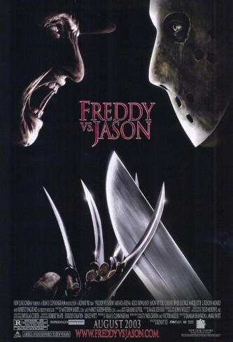 Freddy Vs. Jason Masterprint