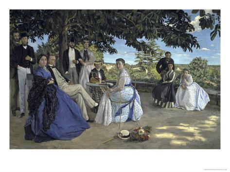 Family Reunion, c.1867 Impressão giclée