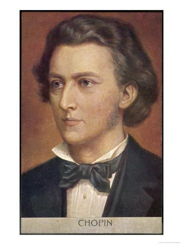 Frederic Chopin Polish Musician Giclee Print