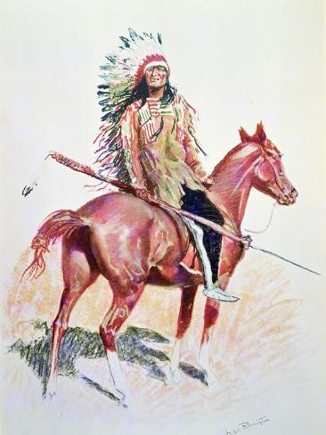 Sioux Chief Stampa giclée