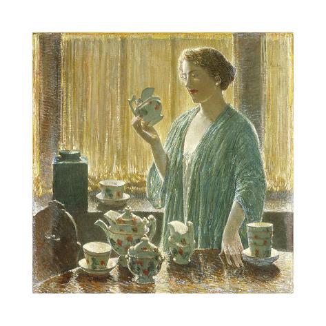 Strawberry Tea Set, 1912 Premium-giclée-vedos