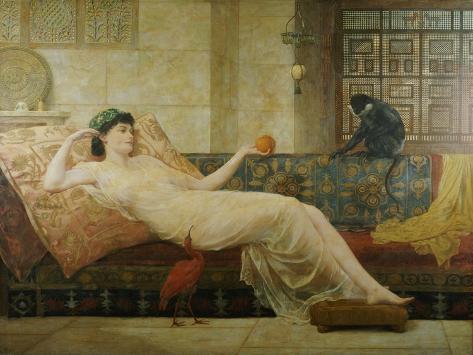 A Dream of Paradise, 1889 Lámina giclée