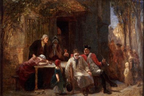 Conscription, 1851 Giclee Print