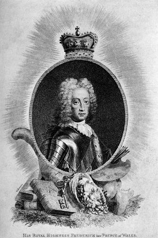 Frederick Louis (1707-175), Prince of Wales, 18th Century Giclee Print