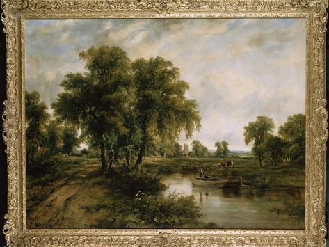 Dedham Vale, Suffolk Giclee Print