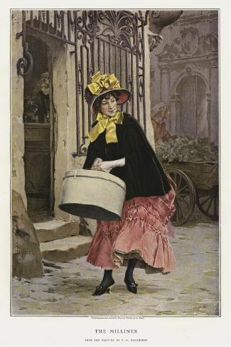 The Milliner Giclee Print