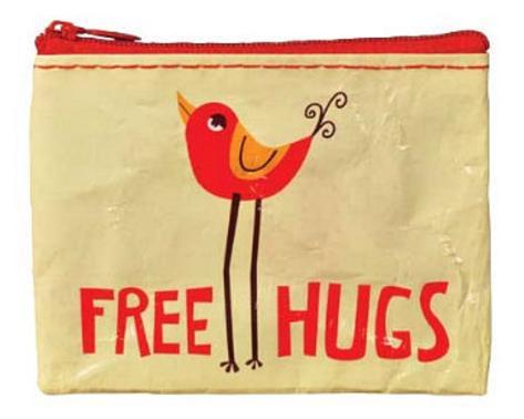 Free Hugs Coin Purse Coin Purse
