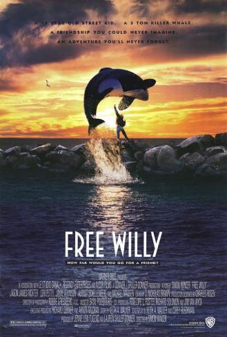 Free Willy Masterprint