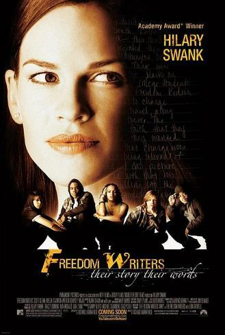 Freedom Writers Movie Poster Double-sided poster