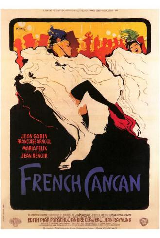 French Can Can Poster