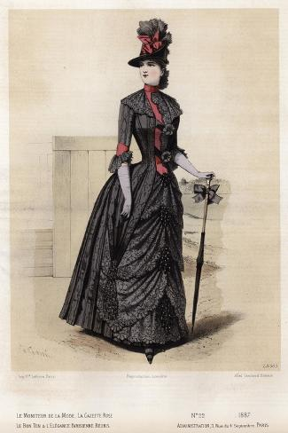 Late 19th century french fashion 64
