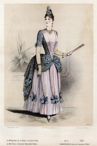Late 19th century french fashion 42