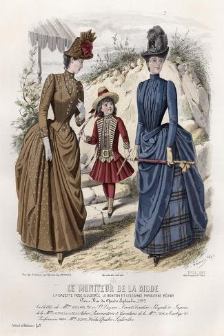 Late 19th century french fashion 10