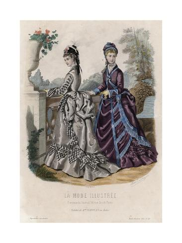 Late 19th century french fashion