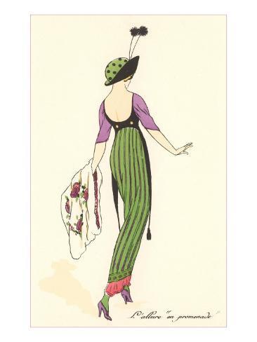 French Fashion Art Print