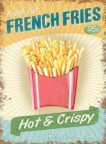 French Fries Peltikyltti