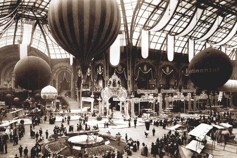 Salon aeronautique grand palais 1912 photographic print for Salon aeronautique