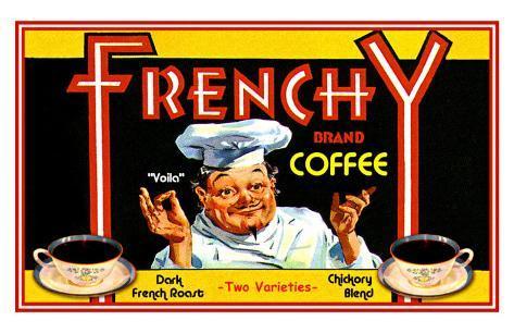 Frenchy Coffee Giclee Print